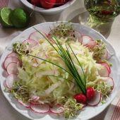 Lajos Mari konyhája - Gombás-sonkás sertésrolád Cabbage, Vegetables, Food, Essen, Cabbages, Vegetable Recipes, Meals, Yemek, Brussels Sprouts