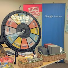 Prize Wheel, The Office, Tabletop, Wheels, Action, Marketing, Digital, Mini, Check