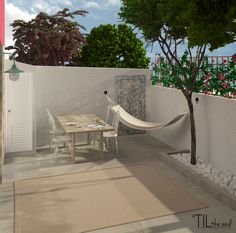 Having a small patio or garden doesn't mean that you have to go without a gorgeous outdoor space, as we are going to prove today! Pergola On The Roof, Pergola Attached To House, Patio Roof, Pergola Plans, Diy Pergola, Pergola Kits, Belem, Palermo, Wall Mounted Planters