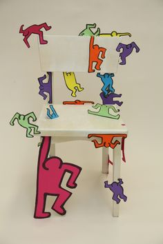 1000 images about keith haring figures on pinterest for Keith haring figure templates