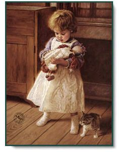 Jim Daly - Playmates - Christ-Centered Art