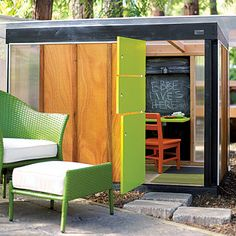 Prefab kids' playhouse
