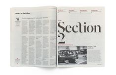 The Independent Newspaper redesign by Matt Willey