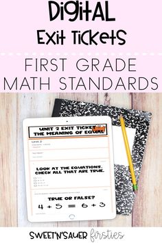 My digital math exit tickets are completely editable, and come with questions formatted as multiple choice, short answer, and checkboxes! These can be used while teaching virtually with your kindergarten, 1st grade, or 2nd grade students. One of my favorite features of the resource is that they auto-grade and also show you data broken down by class trends and individual students.