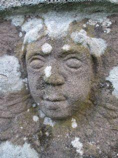 Head, Welsh Newton Churchyard