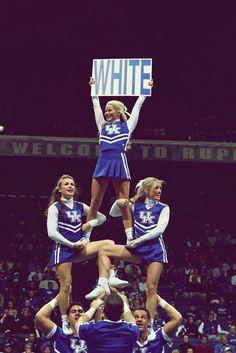 Kentucky. Eternal powerhouse in basketball and cheerleading!