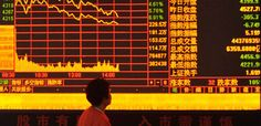 Chinese shares plummet
