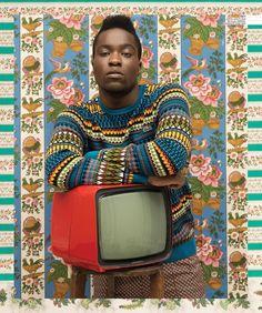 Seydou Keita meets chita de Alcobaça - très bien! - - -MOZAMBIQUE BEAUTIES - UP Magazine by Frederico Martins, via Behance