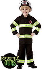 Boys Reflective Firefighter Costume ($30)