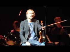 "David Garrett Plays ""You Raise Me Up"" during Rock Symphonies II at Beacon Theater in New York City."