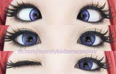 They are excellent at color pay off. They stay bright and make your eyes noticeable. They even stand loud against dark brown coffee colored iris and never fail to make an impact. Buy: http://www.uniqso.com/dolly-eye-blytheye-violet-aka-eos-adult-ii-series/?tracking=538edb82ef81423