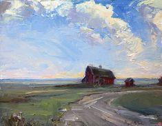 Abigail McBride Artworks Gallery Barns, Artworks, Gallery, Painting, Roof Rack, Painting Art, Barn, Paintings, Painted Canvas