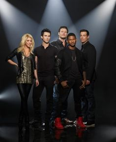 The Voice:Season 4...Usher and Shakira are going to shake up the new season!