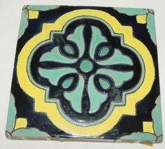 Catalina pottery tile