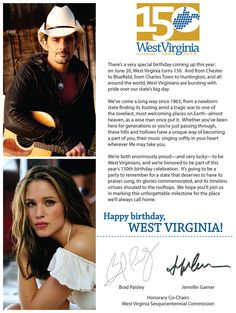 Welcome from Jennifer Garner and Brad Paisley