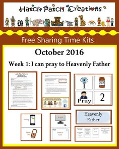 Free Stuff | Family Home Evening made easy!|Hatch Patch Creations