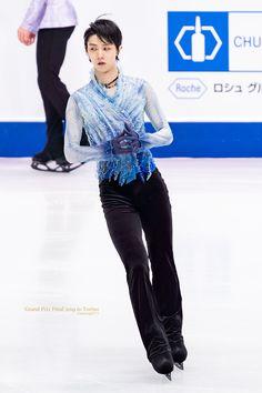 Hanyu Yuzuru, Figure Skating, Grand Prix, Smol Bean, Ice, Animation, Twitter, Boys, People