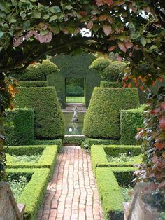 A topiary or two makes any space more enchanting.....