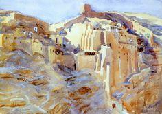 The Athenaeum - Mar Saba (John Singer Sargent - ) 1905-1906