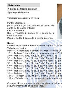 Wonderful Presepio Crochet Decoration step by step Yarn - Crochet Pattern Crochet Basket Pattern, Crochet Patterns, Knitting Patterns, Baby Doll Bed, Step By Step Crochet, Doll Carrier, Baby Baskets, World Crafts, Crochet Decoration