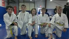 Kids getting ready to have fun at the in house tournament!