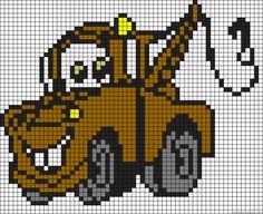 Cars character perler bead pattern