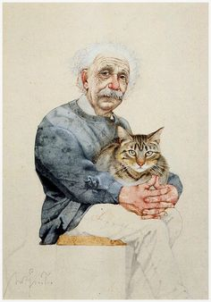 Michael Mathias Prechtl (April Amberg – March Nuremberg) was a German artist, illustrator and cartoonist. He served as a soldier on the Eastern Front during World War II Crazy Cat Lady, Crazy Cats, Cool Cats, I Love Cats, Illustrator, Gatos Cats, Digital Museum, Collaborative Art, Design Blog