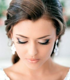 Lovely wedding makeup - My wedding ideas