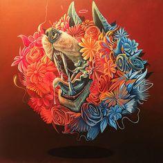 "Artist Nosego Presents Mystical Multimedia Works in ""Along Infinite River"" | Hi-Fructose Magazine"