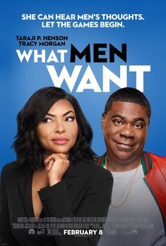 Taraji P. Henson and Tracy Morgan in What Men Want