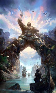 Titan of Braavos by Zippo514 repinned by www.BlickeDeeler.de