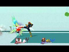 Super Smash Bros. Wii U - Female Wii Fit Trainer vs Captain Falcon - Fre...