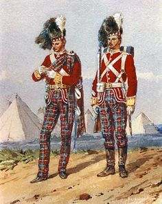 Battle of Peiwar Kotal 2nd December 1878 - 72nd rgt Duke of Albany's Own Highlanders