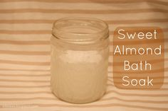 E l l e S e e s: Beauty DIY: Sweet Almond Bath Soak