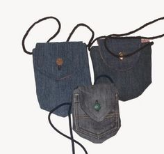Neck pocket bags