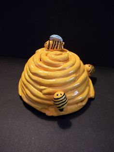 Clay Bee Hive Using Coils