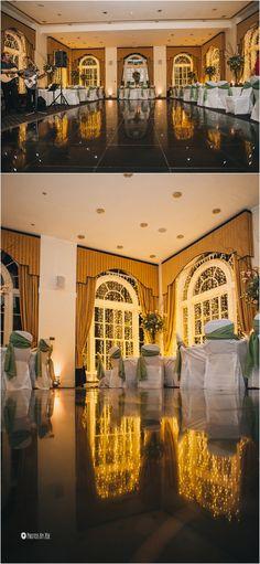 the dance floor at Balbirnie House Hotel