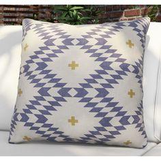 Brayden Studio® Flemings Native Natural Plus Night Outdoor Throw Pillow