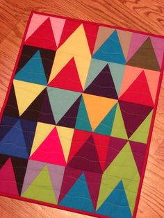 Joyful DOLL Quilt Wall Quilt Table Topper by KarenGriskaQuilts