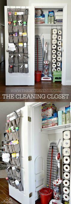 Conseils de nettoyage - The Closet Nettoyage à the36thavenue.com Pin-le maintenant et nettoyer plus tard!