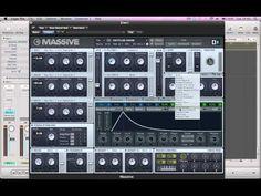 Deep House Bass - NI Massive Tutorial - YouTube