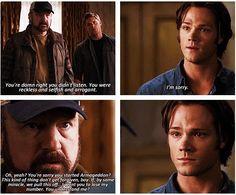 Poor Sam.. this broke my heart.