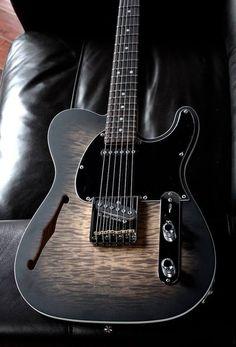 G&L Custom Shop ASAT Classic Semi-Hollow #customguitars