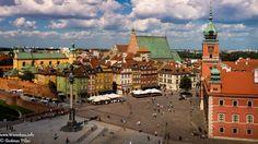 Königsschloss mit Schlossplatz in Warschau