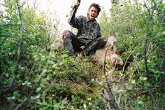 I chose this pic because it's the moose that Chris felt bad about shooting. It shows the type of guy that he is and the kind of heart he has.