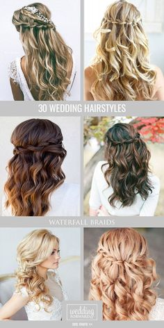 30 Favourite Wedding Hairstyles For Long Hair ❤ Hairspiration is when we go crazy over chic wedding hairstyles for long hair.