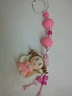 Llavero key ring, adapt for baby shower favor
