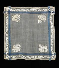 Handkerchief, 19th C