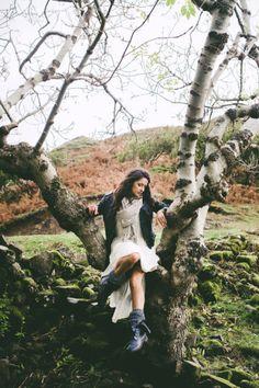 Fairy Fashion shoot, Isle of Skye by Rebekah J Murray