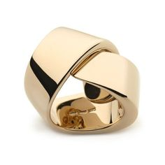An extremely chic 18ct pink gold ABBRACCIO ring by Vhernier